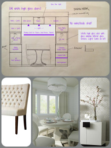 Plan and inspiration pictures for Dining Nook