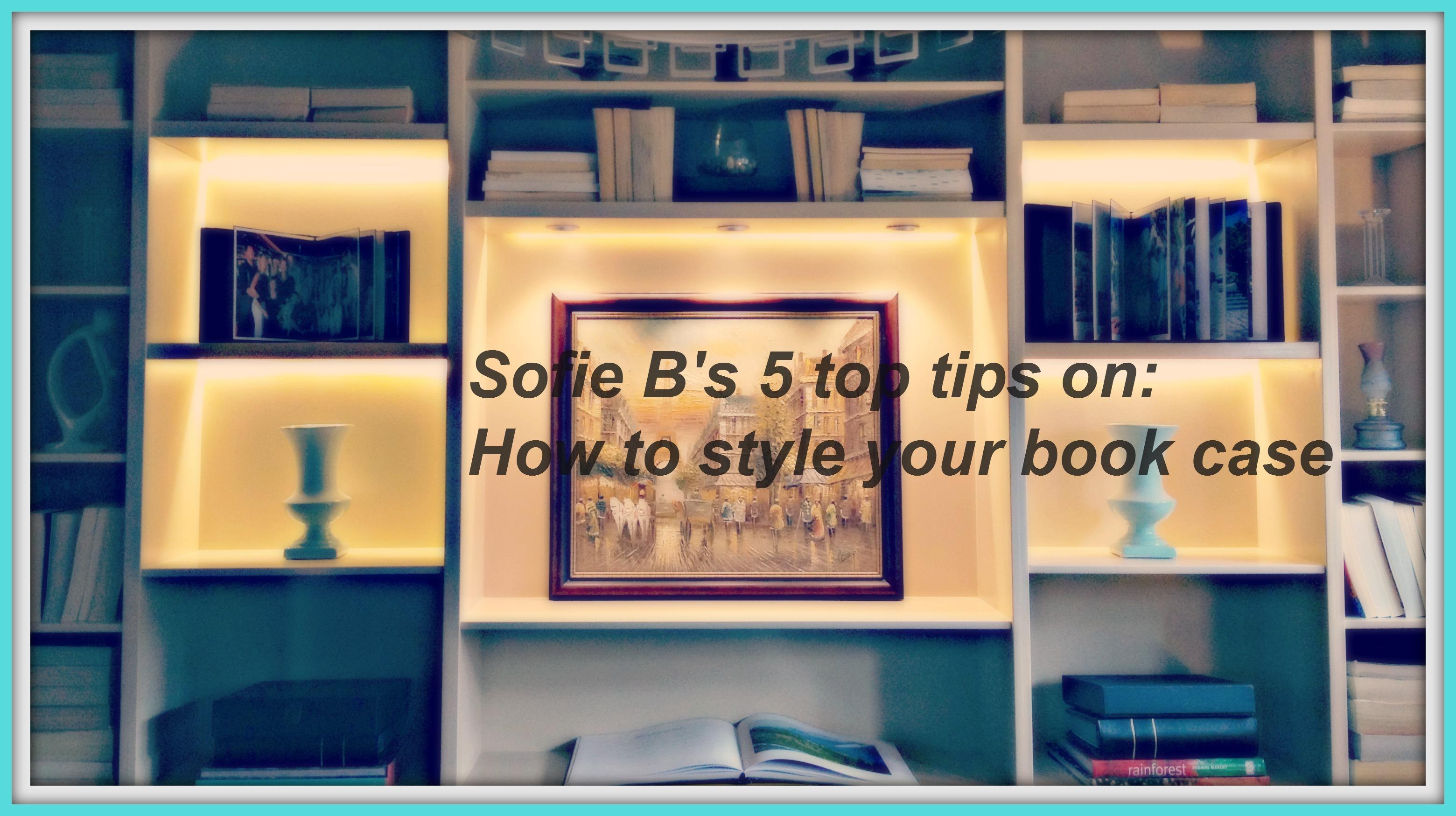 Top tips bookshelf header