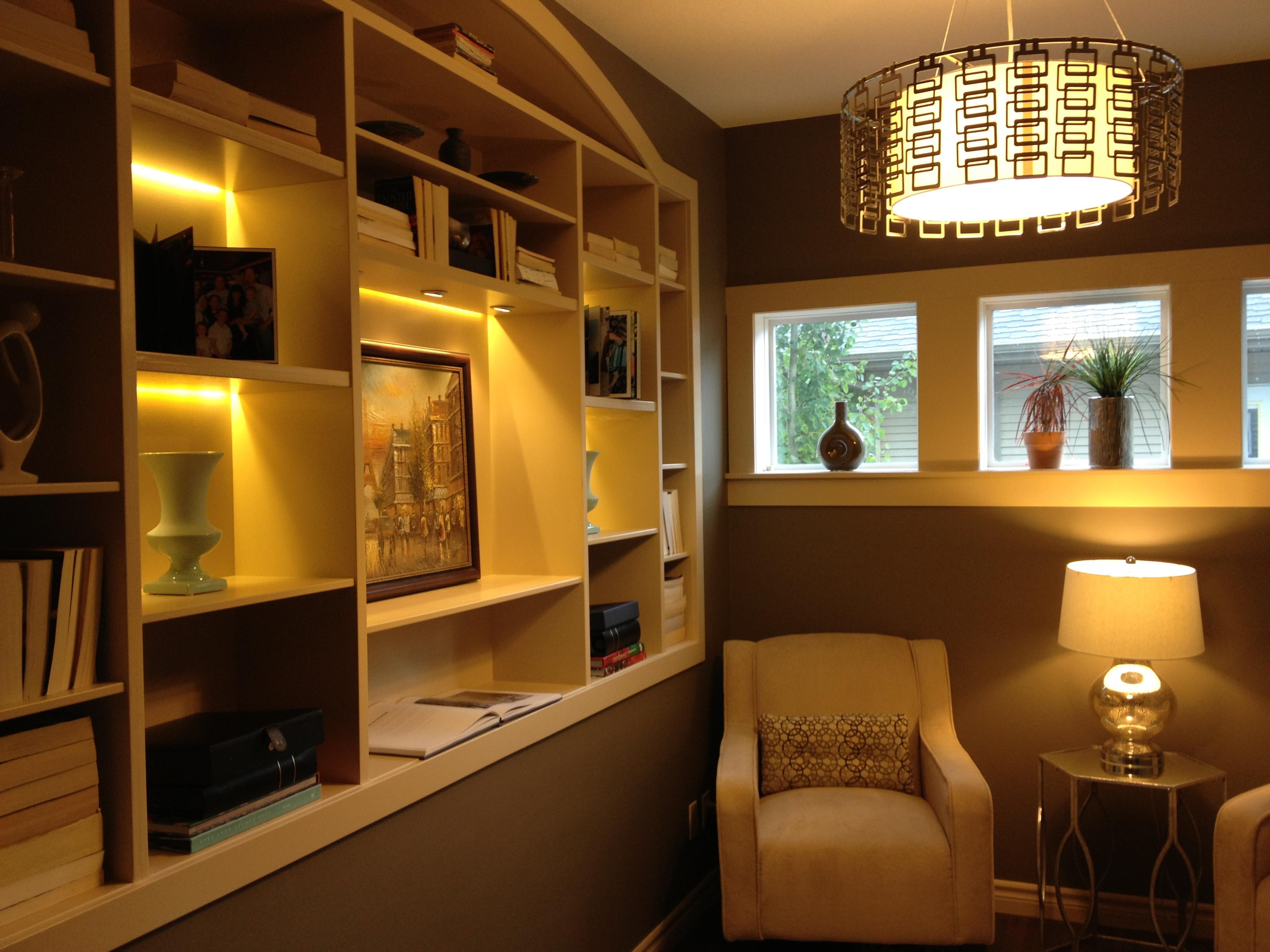 bookshelf styled