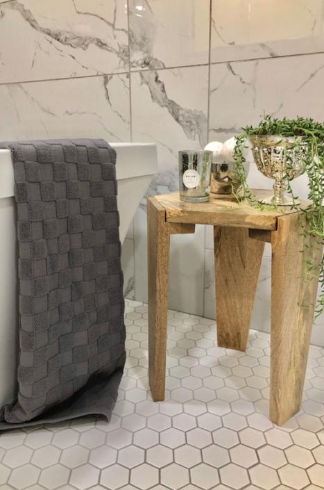 house renovation finished bathroom