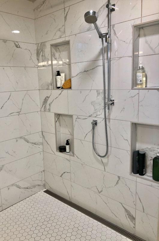 shower house renovation